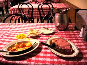 Surf and turf at Durgin Park